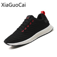 Summer Male Running Shoes Mesh Breathable Comfortable Leisure Sports Shoes Deodorize Anti Skidding Outdoor Sneakers Suitable