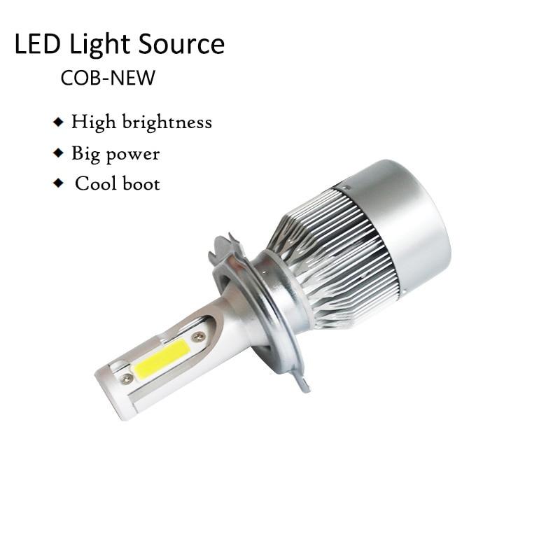72W 8000lm H11 H4 H7 LED cob Car Automotives Լուսարձակող - Ավտոմեքենայի լույսեր - Լուսանկար 3