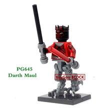Single Sale Star Series Spcae Wars 8 Last Jedi Force Awakens Yoda DIY Building Blocks Bricks Figures Compatible LegoINGlys Gift
