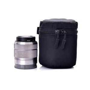 Image 5 - Deluxe מקרה עמיד למים מגן עדשת מצלמה תיק עבור Sony a5100 a6000 Canon 1300d ניקון D7200 P900 D5300 DSLR פאוץ
