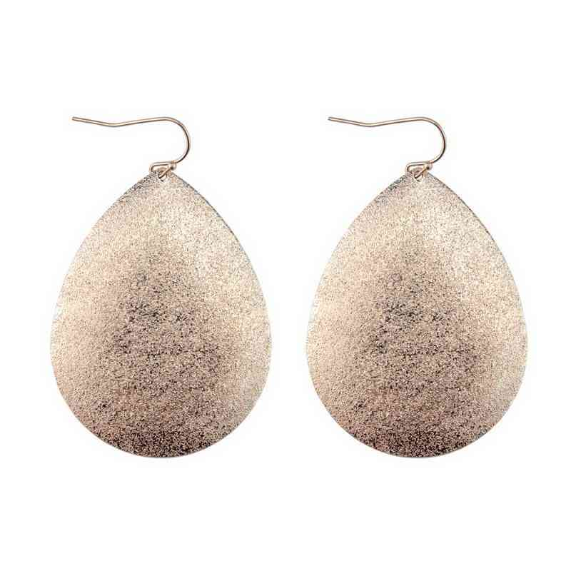 2018 Hot Selling Zinc Alloy Chunky Teardrop Earrings for Women Fashion Boho Statement Earrings Jewelry Wholesale