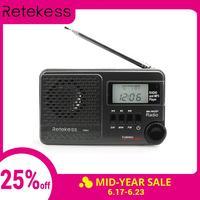 RETEKESS цифровое радио TR601 DSP FM AM SW радио приемник динамик с MP3-плеером Поддержка Micro SD карты и USB аудио вход