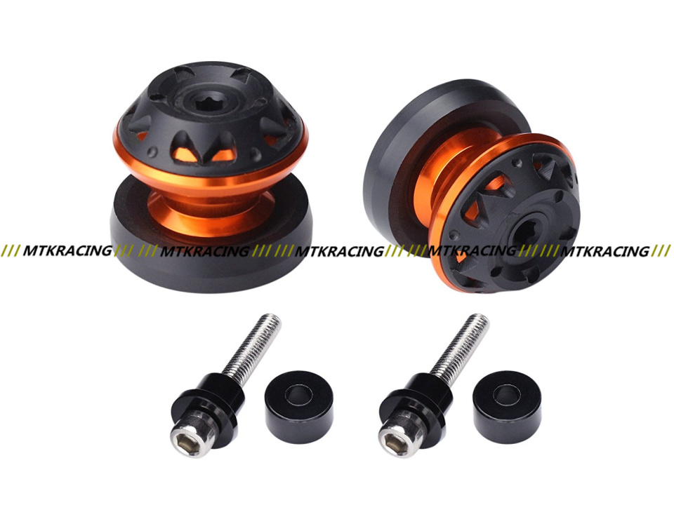 10mm Motorcycle CNC Swingarm Spools stand screws Slider For KAWASAKI Z750 Z750R Z250 NINJA 250 300 Z1000 1000 Versys
