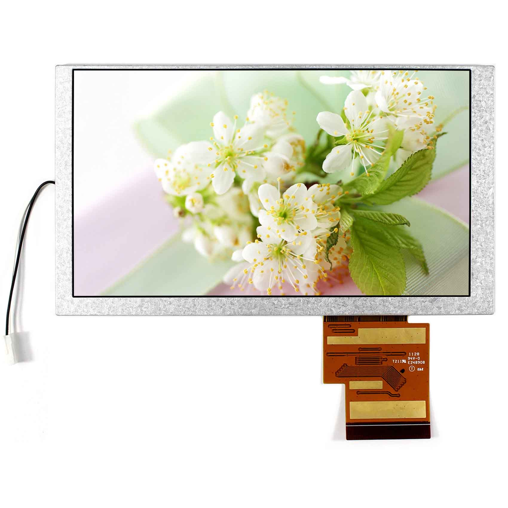 6.2 TFT LCD Display 800x480 HSD062IDW1 60P 6.2 TFT Display Color LCD