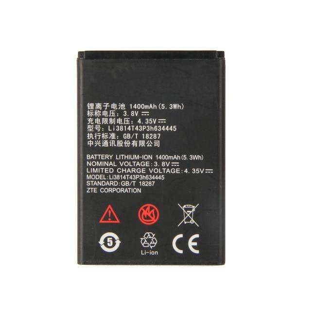 Orijinal Li3814T43P3h634445 Telefonu pil Için ZTE Blade L110 A112 V815W 1400 mAh