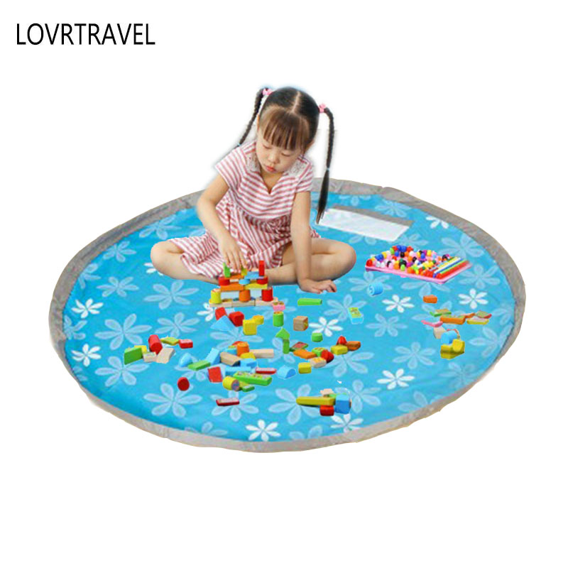 Lovrtrevl Kids Play Mat Waterproof Lego Pad Outdoor Lawn