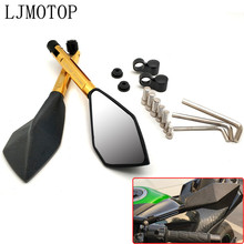 Motorcycle Mirrors Sticker Xmax Mt 03 MT07 Honda Cbr Rearview 1000 CNC for 1000/Rr/1000rr/Dio