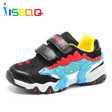 Boys shoes sneakers dinosaur Children's fashion shoes sneaker for boys school kids autumn sports shoes 3-11 years for children(China)