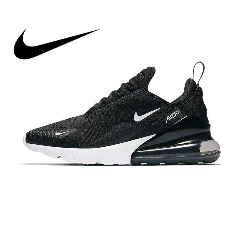 D'origine Nike Air Max 270 Hommes Respirant Chaussures de Course de Sport Authentique En Plein Air Sneakers Designer Durable Loisirs AH8050-002