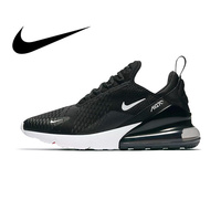 Original Nike Air Max 270 Men's Breathable Running Shoes Sport Authentic Outdoor Sneakers Designer Durable Leisure AH8050 002