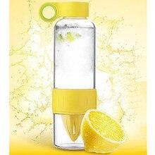 Lemon cup Flesh Fruit water font b bottle b font 628ml drinking sport Leak proof space