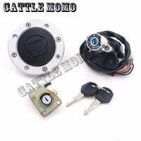 1 Set Motorcycle Ignition Switch Lock Gas Key Set for Suzuki GSXR600/750 04 05 GSXR 600 GSXR 750 SV 1000S 2003 2006 2007 2008