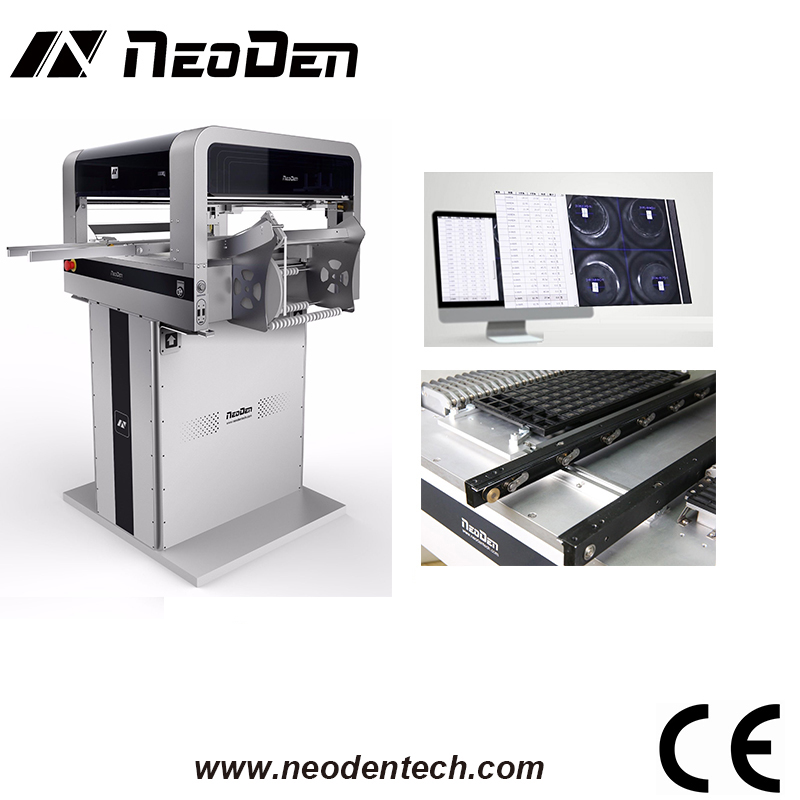 Low Cost Smt Pick And Place Machine Capable 10000cph High Speed Led Bulb Pcb Circuit Boards-neoden4 With Vision/internal Rails/4 Heads