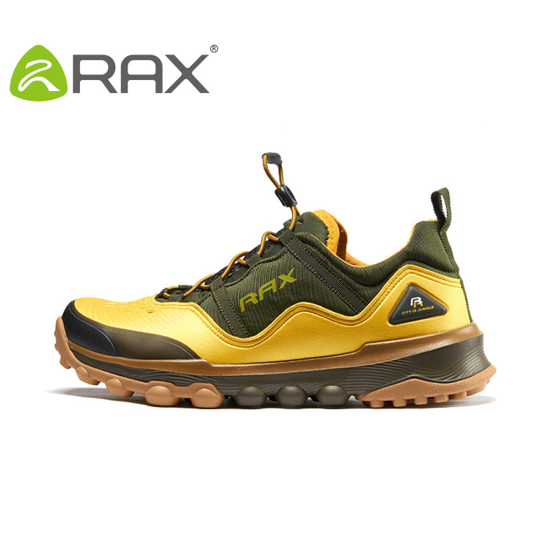 Rax 2017 Spring Summer Hiking Shoes Mens Outdoor Sports Shoes Man Breathable Antiskid Trekking Boots Size 39-44 HS16 iverson basketball shoes male adolescents spring low help iverson war boots light wear antiskid sports shoes