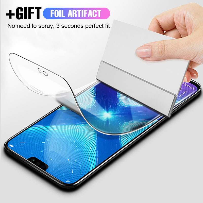 Protective Soft Hydrogel Film For Huawei P30 P20 Mate 20 Pro Lite Screen Protector Film For Honor 8X 10 Lite 20 Pro Not Glass