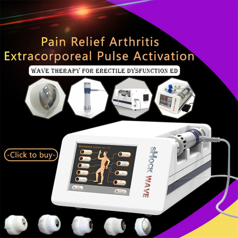 Low-Intensity Shockwave Therapy Machine For Countering ED Erectile Dysfunction Acoustic Radial Shock Wave For ED Treament