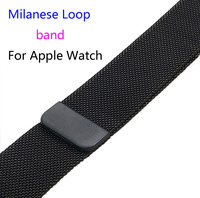 Milanese Loop Link Bracelet Stainless Steel Band For Apple Watch 42mm 38mm Bracelet Strap For Iwatch