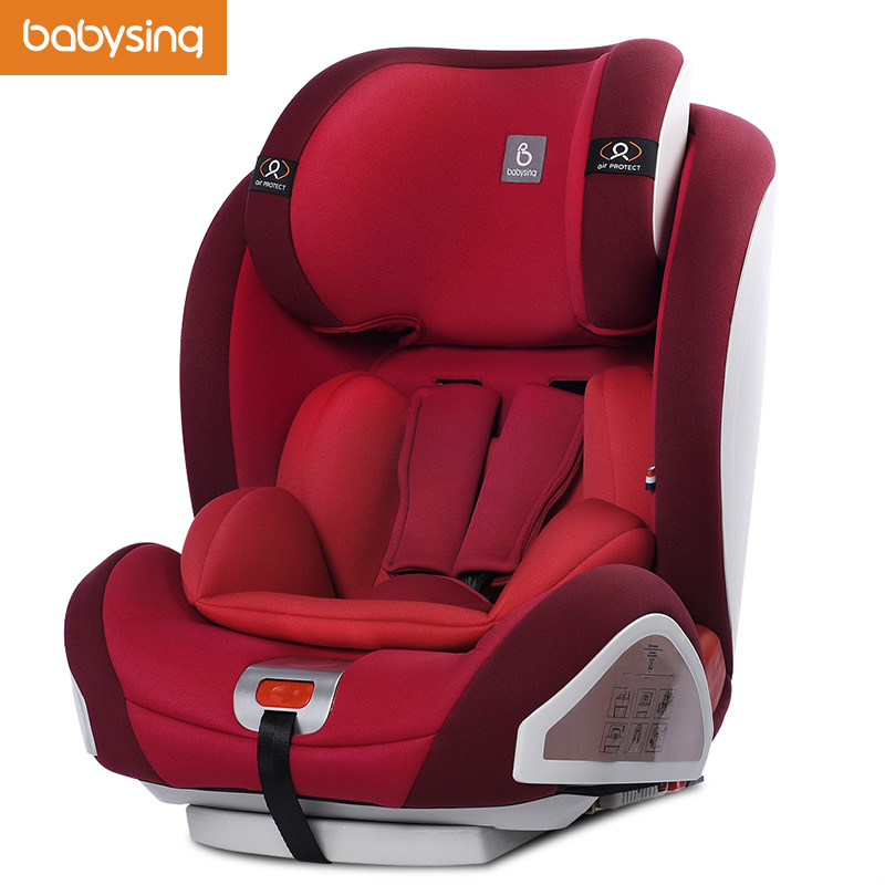 High Quality Children Safety Car Seat for 9 Months ~ 12 Years Old, Auto Seats With ISOFIX, Approved by CCC, Kids Safety Chair total quality 500g 12 years old gaoli