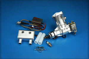 Image 2 - DLE Original new DLE 20CC DLE20RA DLE 20RA Gasoline Engine for RC Model