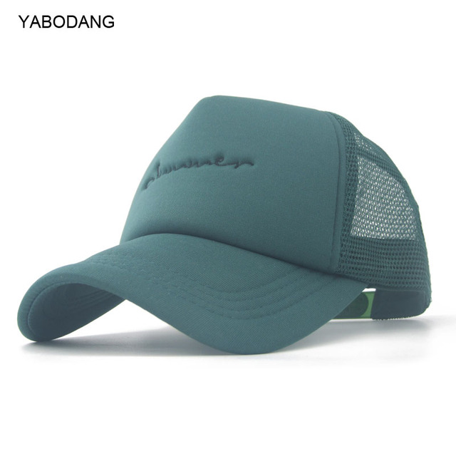 Verano verde malla gorra de béisbol sombreros para hombres mujeres entre  padres e hijos sombrero Gorras 4397cac974f