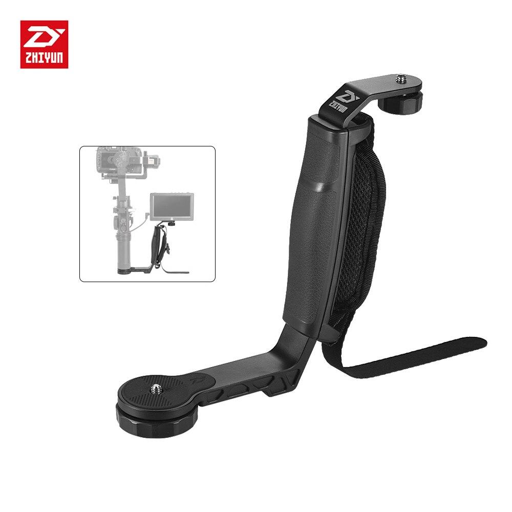 Zhiyun SHH 01 TransMount Mini Dual Grip for Crane 2 for hohem iSteadyGear 3 Axis Handheld