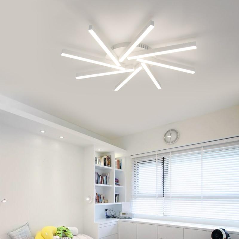 led Ceiling light Postmodern living room lamp modern minimalist creative bedroom dining room lamp home aluminum lamp