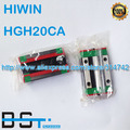New Original HIWIN Linear rail carriage HGH20CA  # match with HGR20 Guideway
