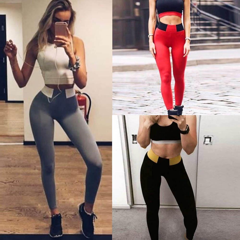 Womail Brand High Quality Sport Leggings Women Hight Waist Yoga Fitness Leggings Running Gym Stretch Sports Pants Trouser