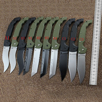 29UXTGH XL 10 Models Tactical Knife 8CR13MOV Blade Folding Knife TANTO Outdoor Camping Hunting Pocket Survival EDC Tool Knifes