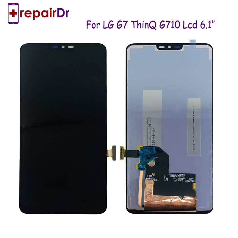Nuovo originale di 1440x3120 Per LG G7 ThinQ G710 Lcd Touch Screen Digitizer Display LCD Assembly di Ricambio Per LG g7 Schermo LcdNuovo originale di 1440x3120 Per LG G7 ThinQ G710 Lcd Touch Screen Digitizer Display LCD Assembly di Ricambio Per LG g7 Schermo Lcd