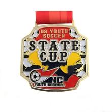 цена на Free Design Metal Championship Award Gold Sports Custom Medals for Events