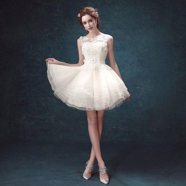 2015 New Pretty Girls White Princess Dress The Diamond Embroidery ...