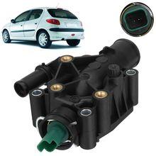 Двигатель Хладагент термостат с Корпус для peugeot партнер 1007 206 207 307 308 для Citroen Berlingo C-Elysee C2 C3 C4 Xsara