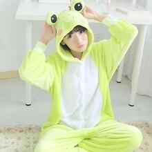 Фланель для влюбленных пар Аниме Onesie фланель Fox пижамы взрослых  животных пижамы кигуруми для Хэллоуина праздничная b438ea5fb2f40