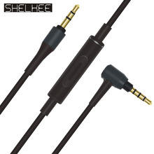 SHELKEE 3.5mm Upgrade Replace audio cable for For Audio Technica ATH-MSR7 Sony MUC-S12/SM1 MDR-1A headphones