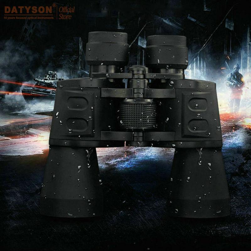 10x50 Binoculars Professional Hunting Telescope High Quality Vision BAK4 Eyepiece Lens for Fishing Spotting Scope
