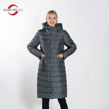 MODERN NEW SAGA Full Sizes Female Warm Winter Parkas Women F