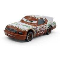 Disney NO 101 Tach O Mint Metal Toy Alloy Racing Car Pixar Cars Movie Macqueen Racing