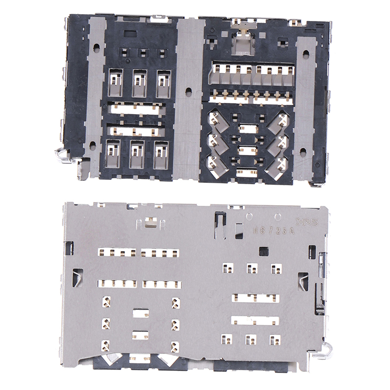 Lot Sim Card Reader Slot Tray Module Holder Connector For LG G6 H870 H870DS LS993 VS988 H872 Socket