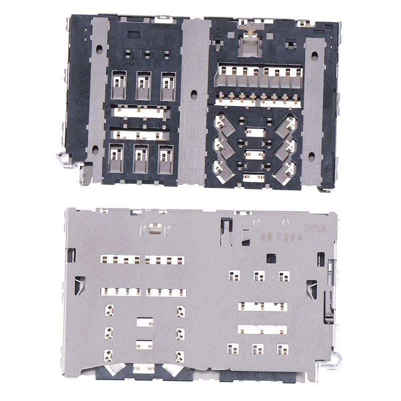 Lot Sim Card Reader Slot Tray Module Holder Connector For LG G6 H870 H870DS LS993 VS988 H872 Socket
