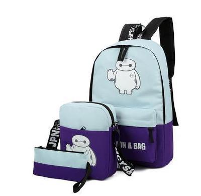 Wholesale Luminescence women font b backpack b font nylon Korean school bag font b laptop b