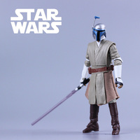 3 75 Action Figure Star Wars Jedi Warrior Metz Windu Movable Figures Model Toys