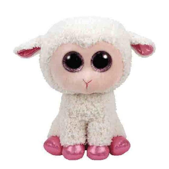 Beanie Boos 6 15cm Stuffed Twinkle Lala Lamb Easter Boo Sheep Pink