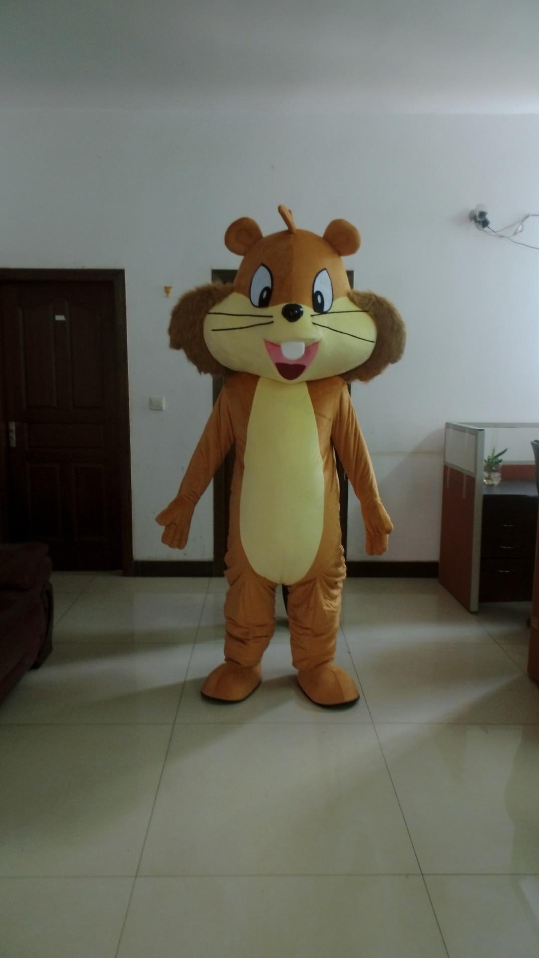 Écureuil mascotte Costume belle adulte dessin animé déguisement dessin animé apparence Halloween anniversaire Cosplay