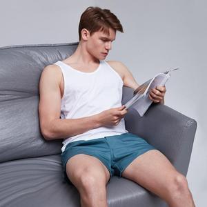 Image 2 - Мужские хлопковые домашние брюки Xiaomi youpin Cottonsmith, 100% хлопок, свободные, приятные для кожи мужские повседневные пляжные шорты