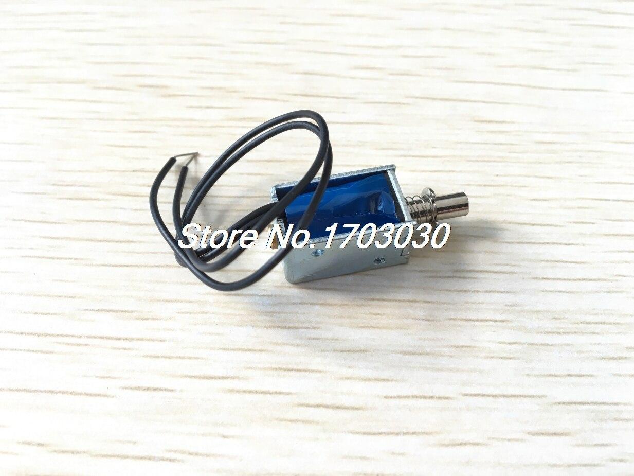 5V 1mm 100g 2mm 50g Force Push Pull Type Open Frame Solenoid Electromagnet