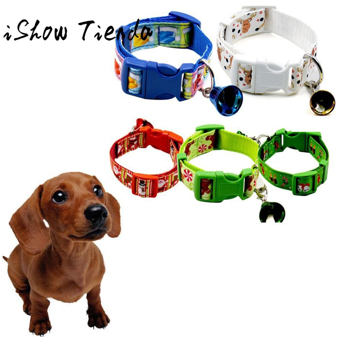 The New Christmas Design Pet Dog Collar Christmas Pet Collars Dog Collar Dieren Benodigh ...