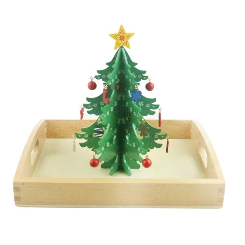 Kopen Goedkoop Montessori Materialen Decor De Kerstboom Praktische
