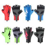 Unisex Cycling Gloves Men Women Half Finger Breathable MTB Road Mountain Bike Motorcycle Anti Slip Gel