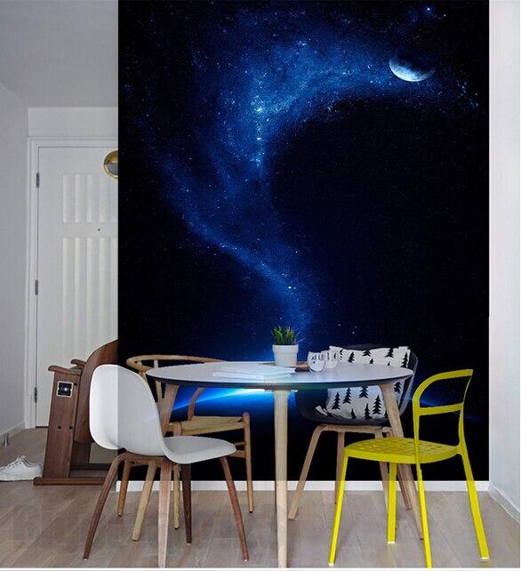 Blue Dream Cielo Stellato Costo.3d Personalizzato Grande Murale Bella Sogno Azzurro Cielo Stellato